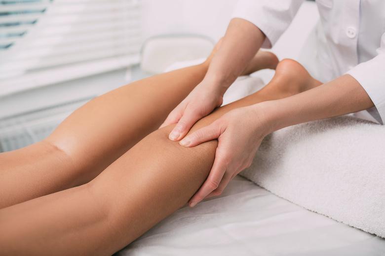 Massaggio drenante gambe fittness brianza