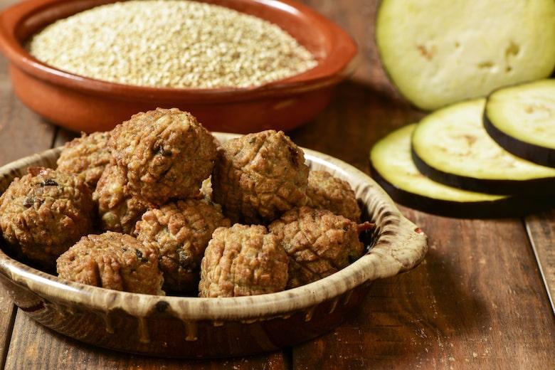 Polpette Dietetiche con Lenticchie e Melanzane